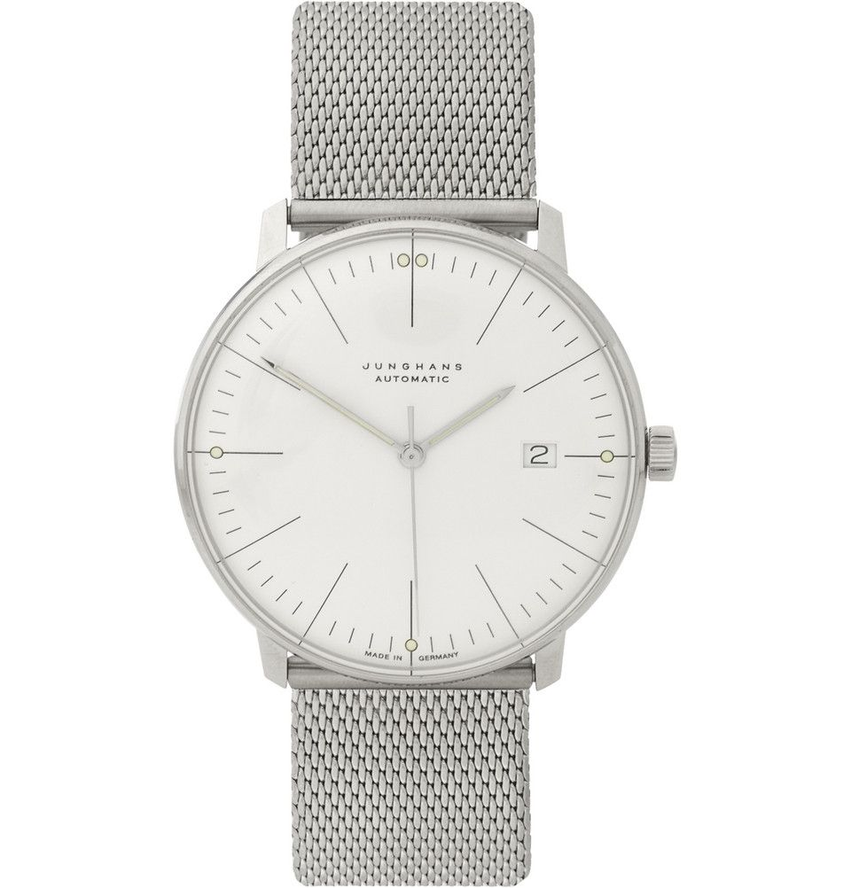 Le Meilleur Junghans X Max Bill Stainless Steel Automatic Watch Mr Ce Mois Ci
