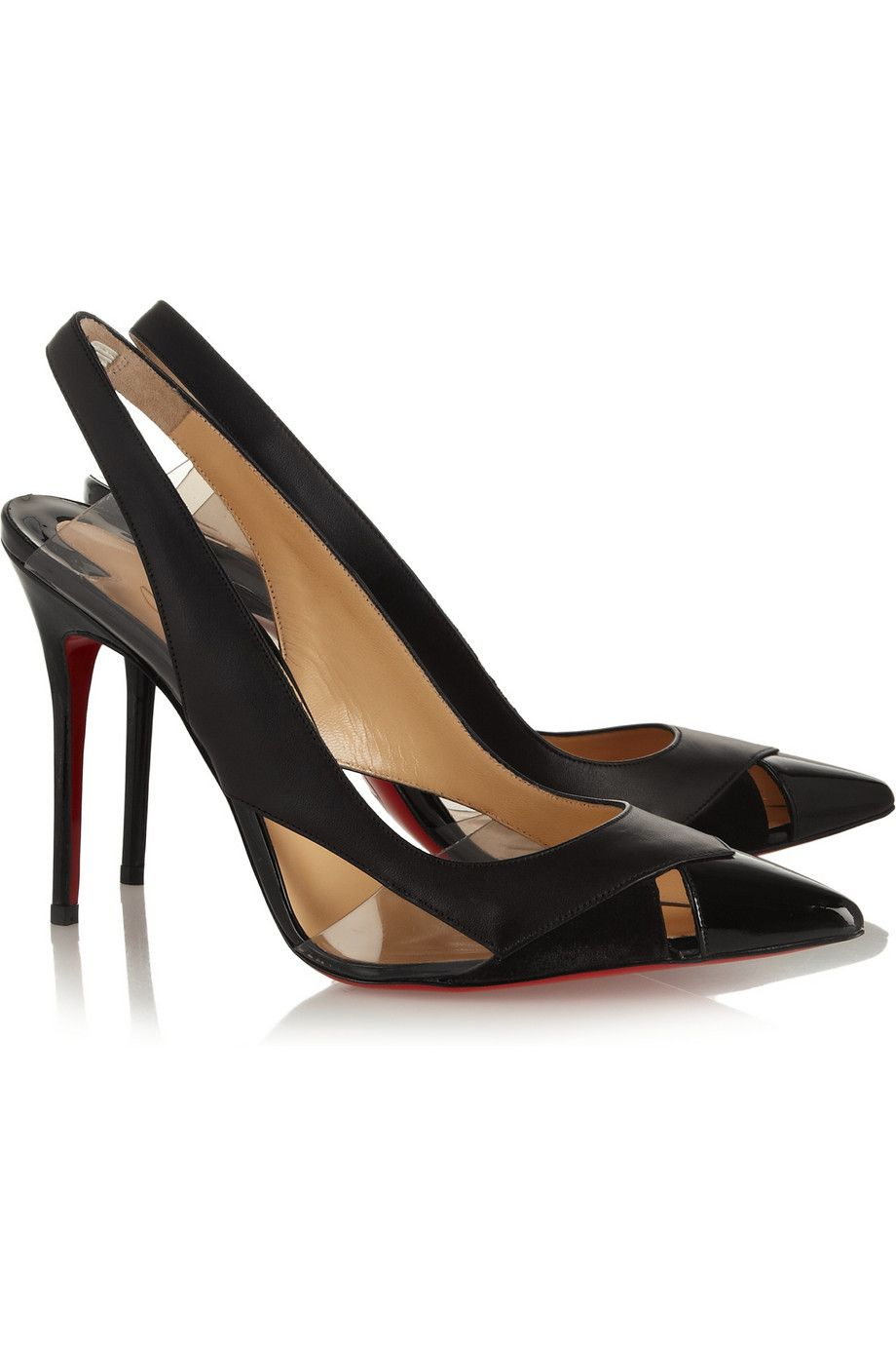 Le Meilleur Christian Louboutin Air Chance 100 Leather And Suede Ce Mois Ci