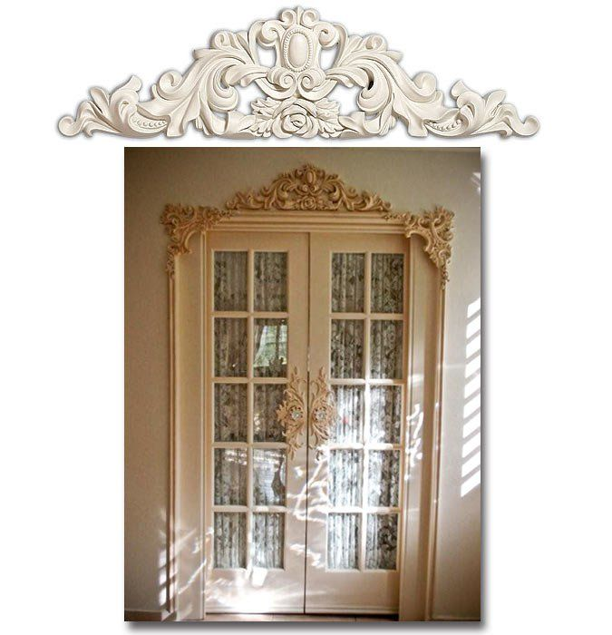 Le Meilleur Ornamental Molding Around Door Wainscoting Ce Mois Ci