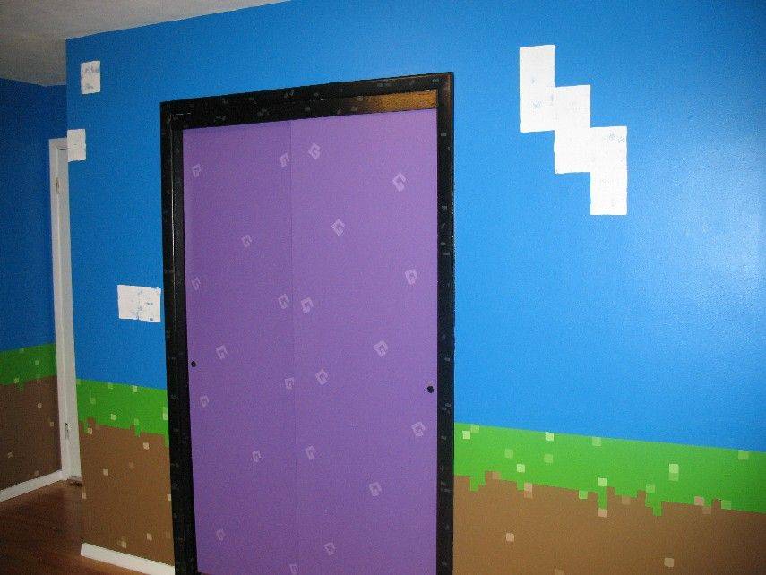 Le Meilleur My Daughter S Minecraft Inspired Bedroom Kids Ce Mois Ci
