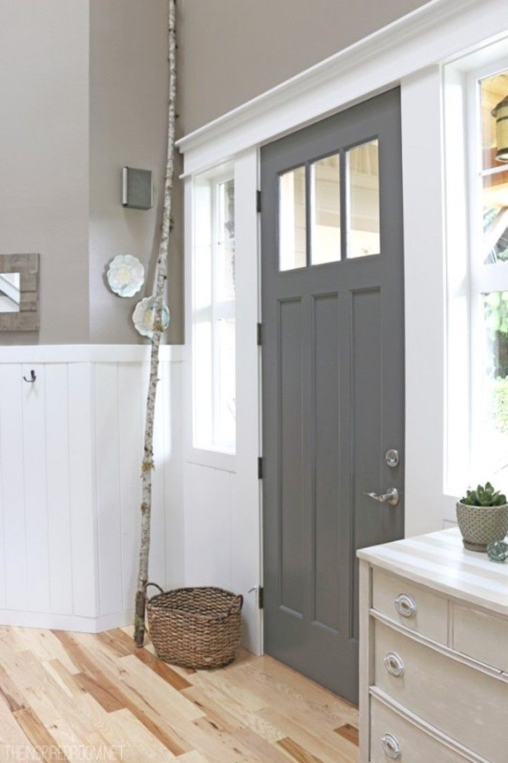 Le Meilleur Benjamin Moore Hc 166 Kendall Charcoal For Front Door And Ce Mois Ci