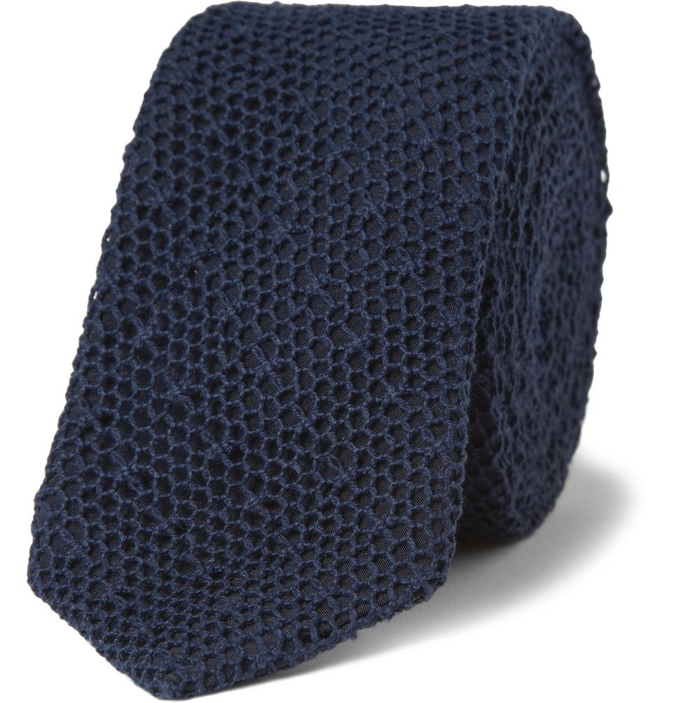 Le Meilleur Marwood Mesh Lace And Silk Tie Mr Porter Clothing Ce Mois Ci