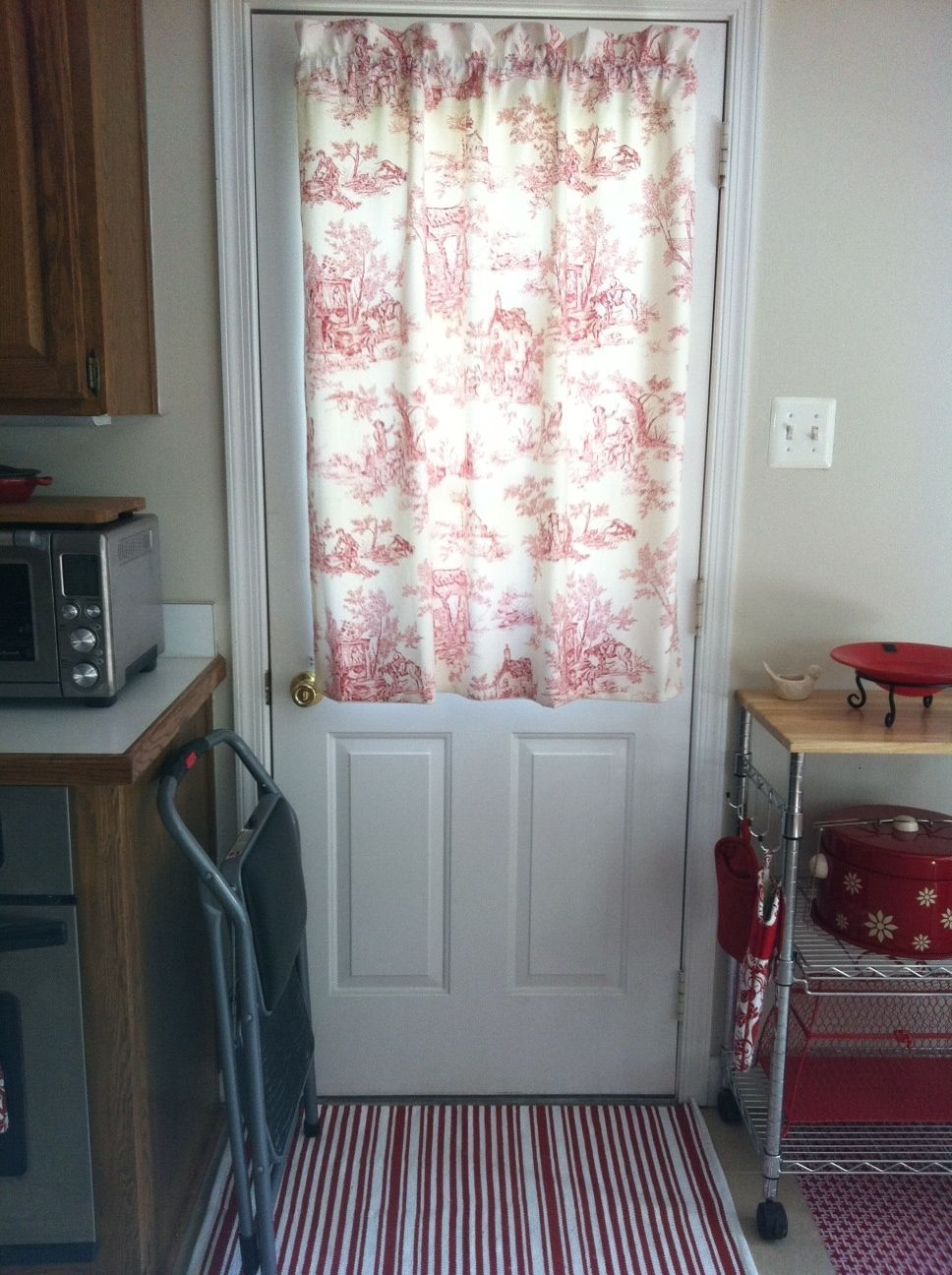 Le Meilleur Kitchen Door Curtain My Craft Projects In 2019 Door Ce Mois Ci