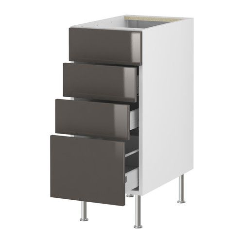 Le Meilleur Akurum Base Cabinet With 4 Drawers Ikea Built In Dampers Ce Mois Ci