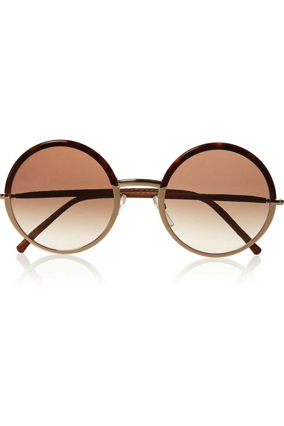 Le Meilleur Cutler And Gross Round Frame Metal And Acetate Ce Mois Ci