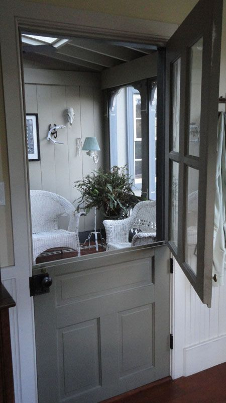 Le Meilleur Dutch Door In Gray I Adore The Character That It Brings Ce Mois Ci