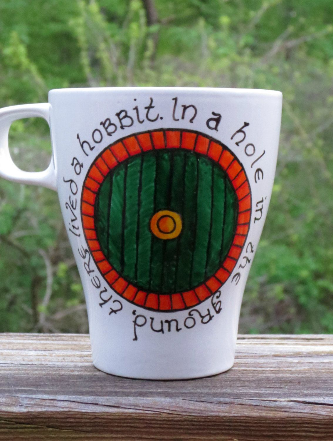 Le Meilleur Hand Painted Coffee Mug Lord Of The Rings The Hobbit Ce Mois Ci