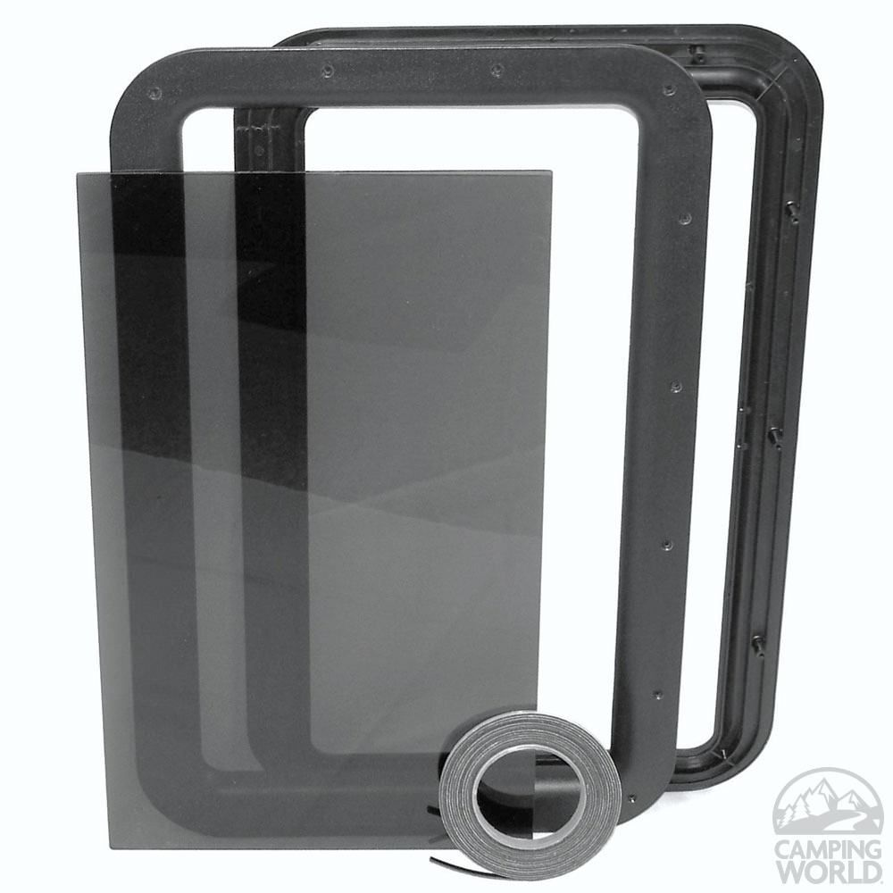 Le Meilleur Clear View Entry Door Window Kit Rv Camping Entry Door Ce Mois Ci