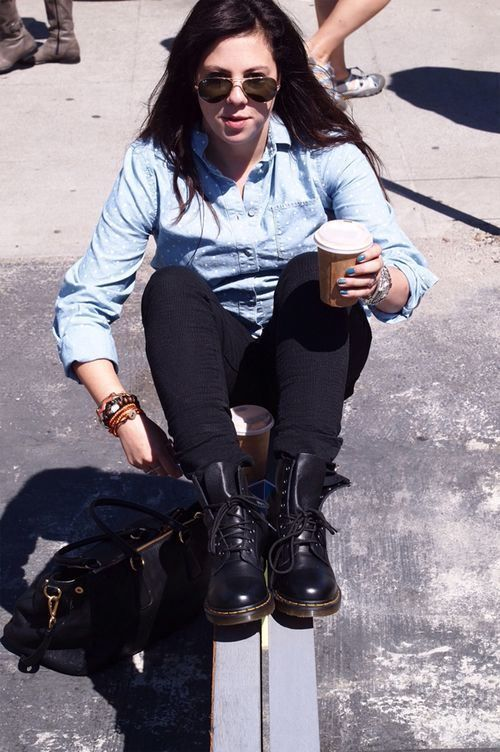 Le Meilleur How To Wear And Style Doc Marten Boots Outfits Doc Ce Mois Ci