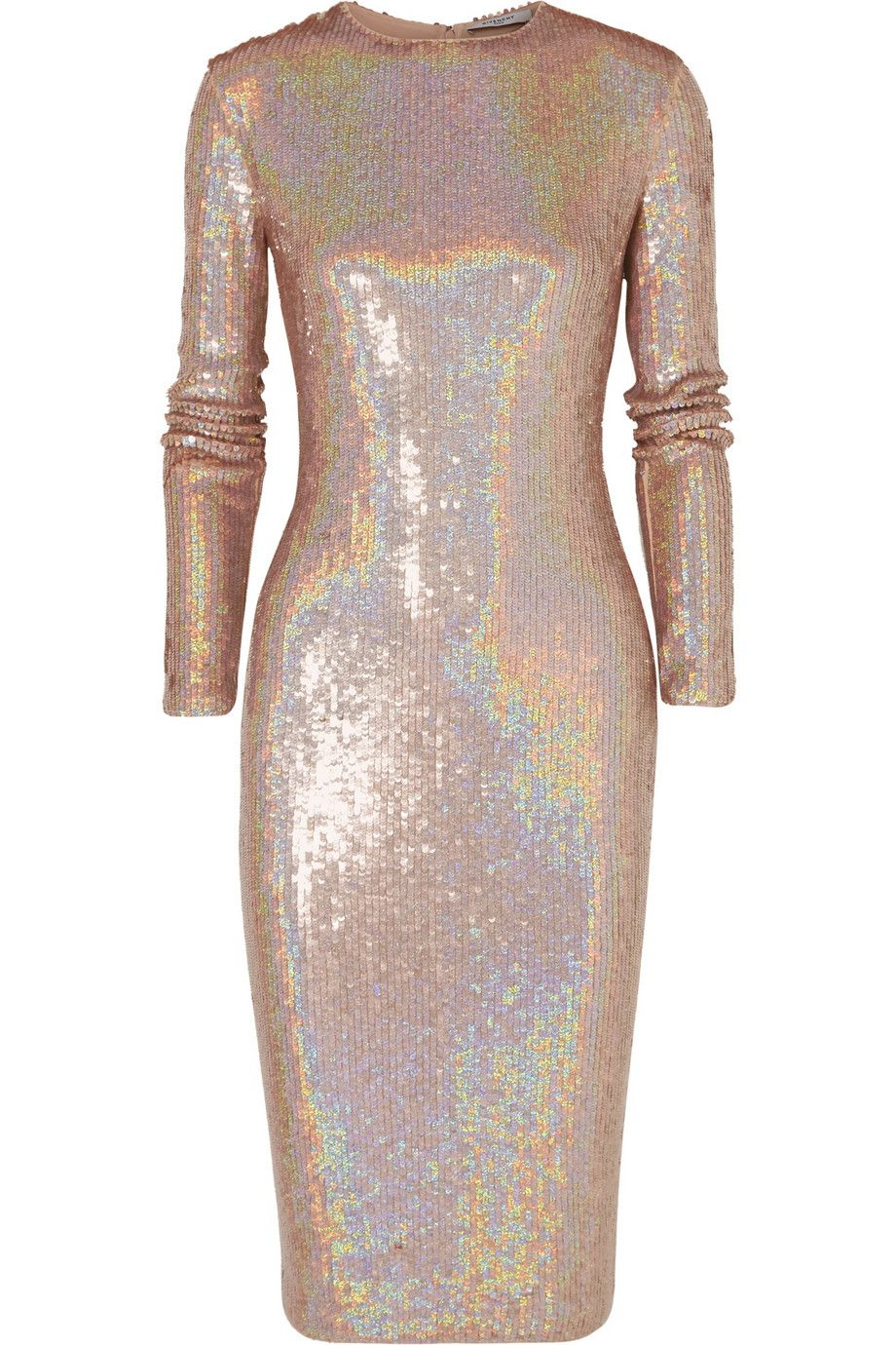 Le Meilleur Givenchy Knee Length Dress In Iridescent Sequined Jersey Ce Mois Ci