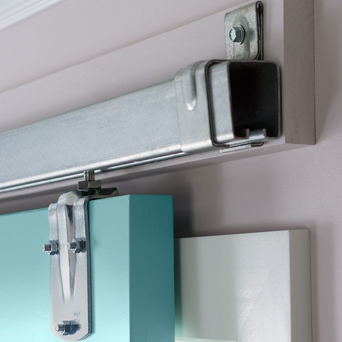 Le Meilleur Sliding Door Hardware On A Ledger Board Instead Of Ce Mois Ci