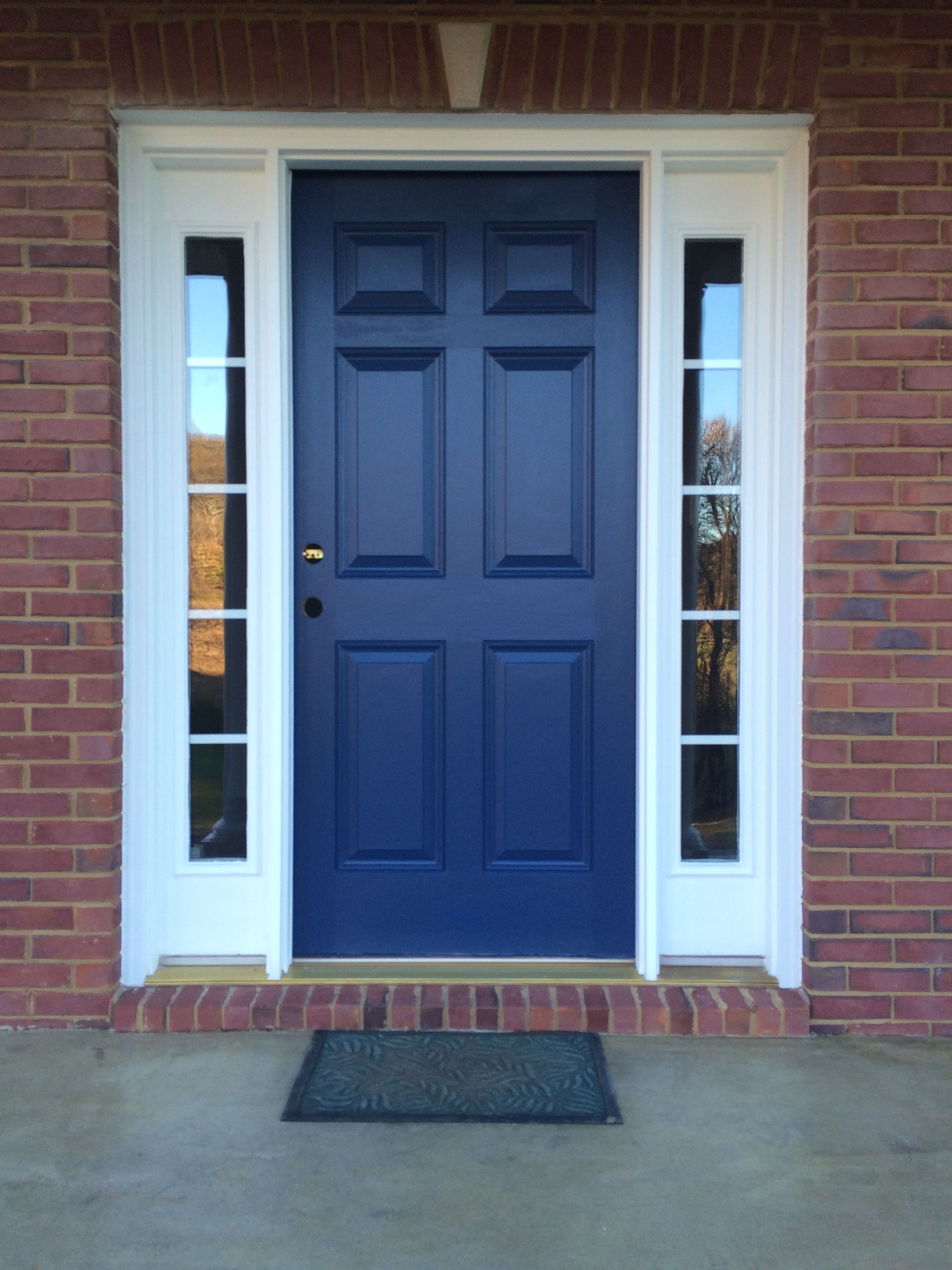 Le Meilleur Beautiful Repainted Front Door We Used Sherwin Williams Ce Mois Ci