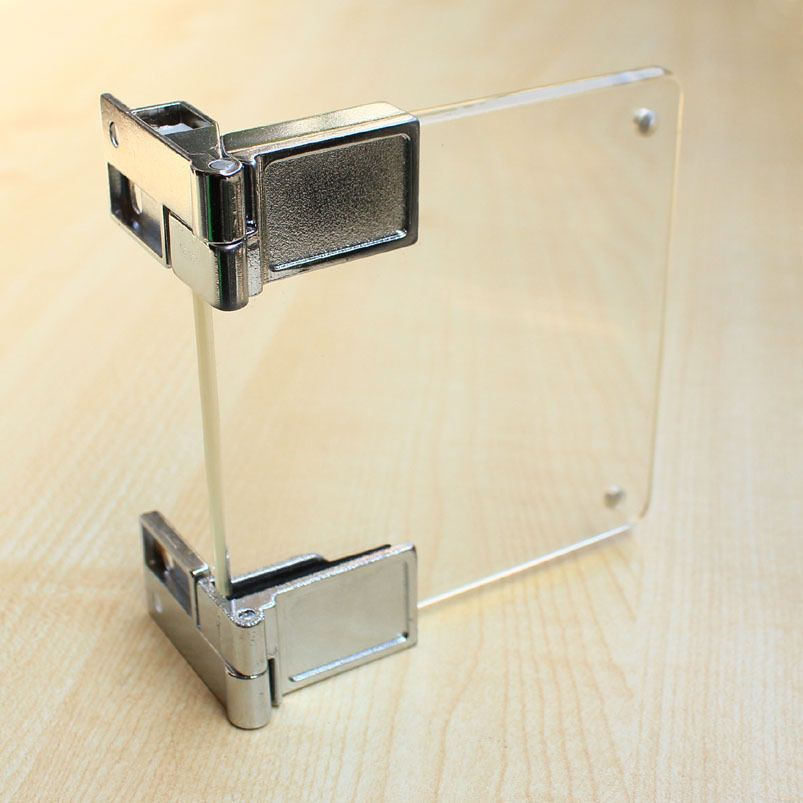 Le Meilleur Glass To Glass Hinges Glass Cupboard Cabinet Door Clamp Ce Mois Ci