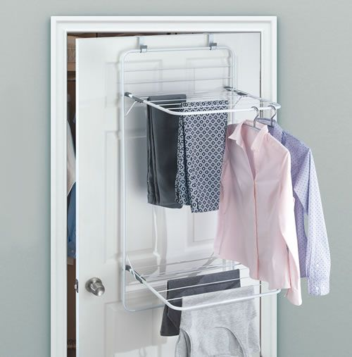 Le Meilleur Over Door Clothes Drying Rack Utility Storage Laundry Ce Mois Ci