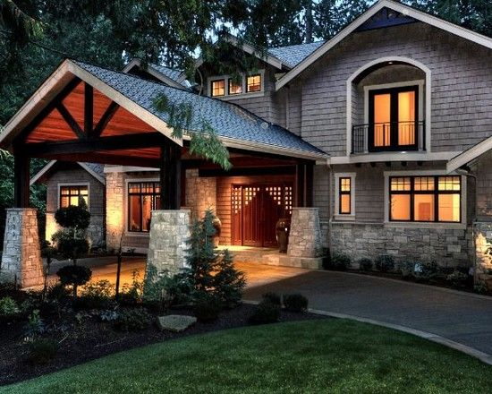 Le Meilleur Craftsman Porte Cocheres Portico For The Home In 2019 Ce Mois Ci