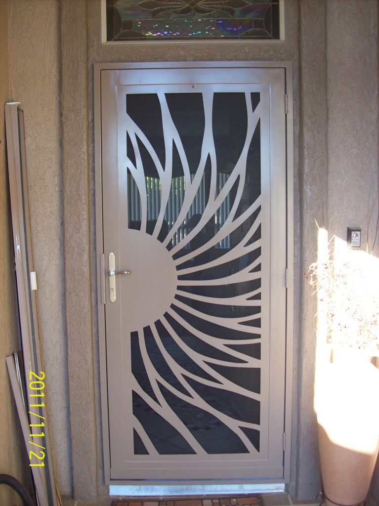 Le Meilleur Security Screen Doors Native Sun Home Accents Inc Ce Mois Ci