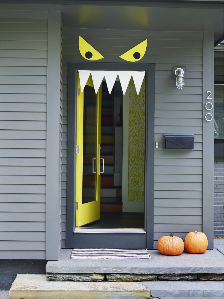 Le Meilleur Welcome Halloween With Diy Front Door Decorations The Ce Mois Ci