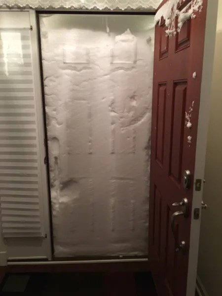 Le Meilleur New Jersey Couple S Front Door Is Covered Entirely With Ce Mois Ci