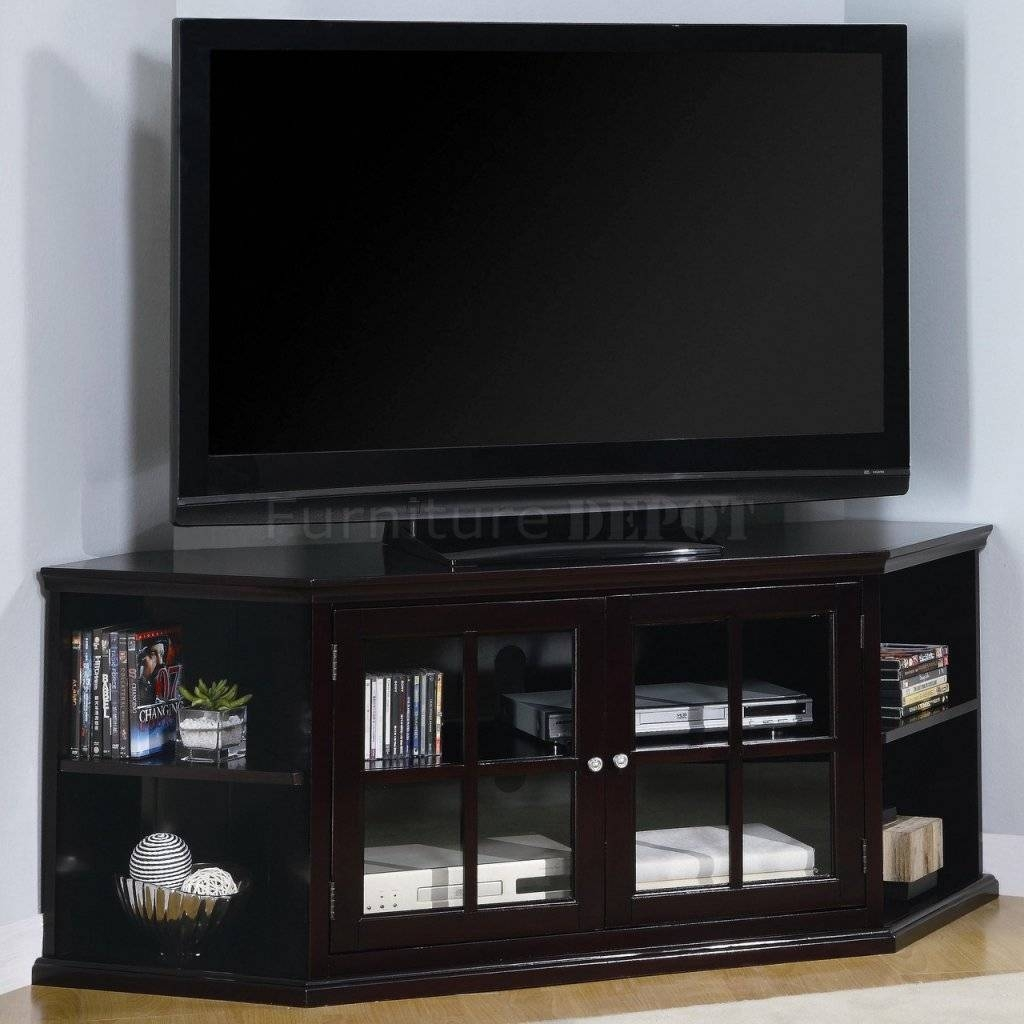 Le Meilleur Best 15 Of Black Corner Tv Cabinets With Glass Doors Ce Mois Ci