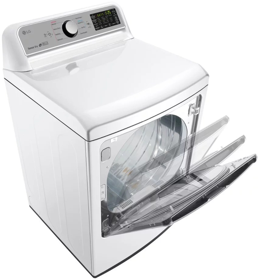 Le Meilleur Lg Dlg7201We 27 Inch Gas Dryer With Easyload™ Door Wi Fi Ce Mois Ci