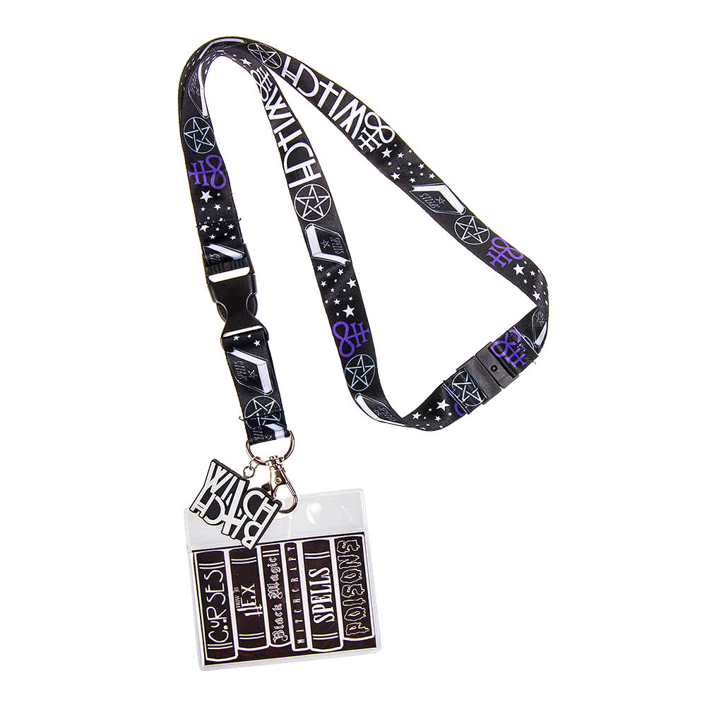 Le Meilleur Cosmic Witch College Black Lanyard Gifts And Accessories Ce Mois Ci