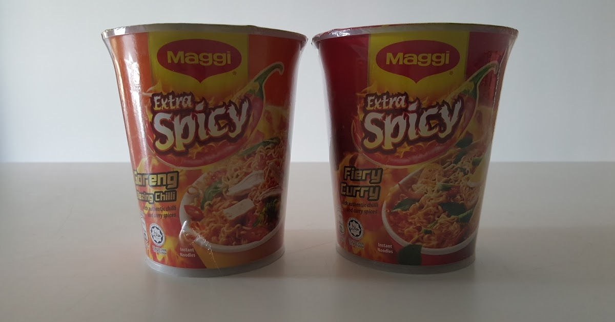 Le Meilleur Alice In The Yummyland Maggi Extra Spicy Cup Noodles Ce Mois Ci