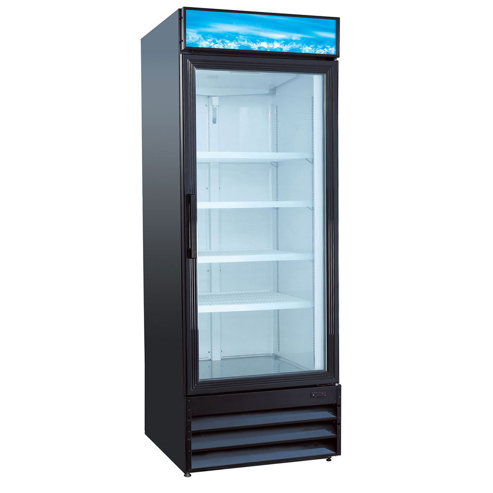 Le Meilleur Equipped Vrgd23 28 One Section Glass Door Merchandiser W Ce Mois Ci