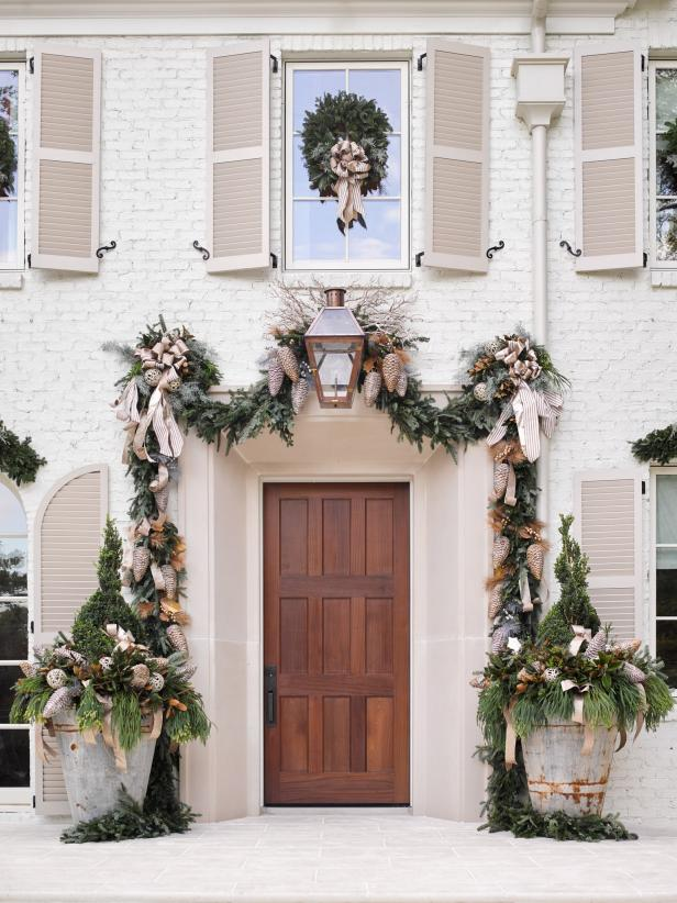 Le Meilleur Best Beautiful Front Door Christmas Decorations Part 1 Ce Mois Ci