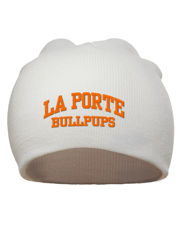 Le Meilleur La Porte Junior High School Bullpups Embroidered Acrylic Ce Mois Ci