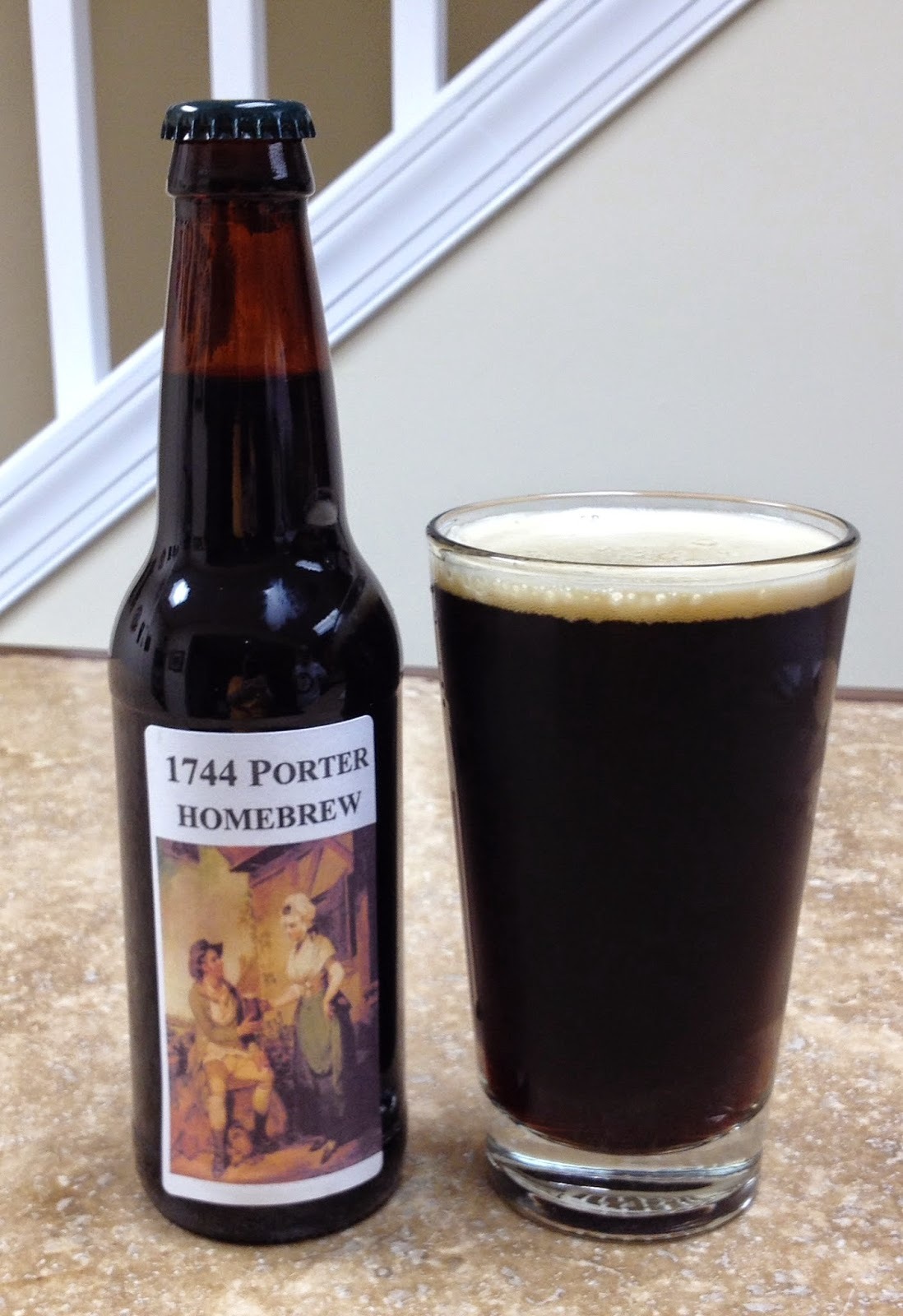 Le Meilleur Histocrats Recreating History Home Brewing A 1744 Porter Ce Mois Ci