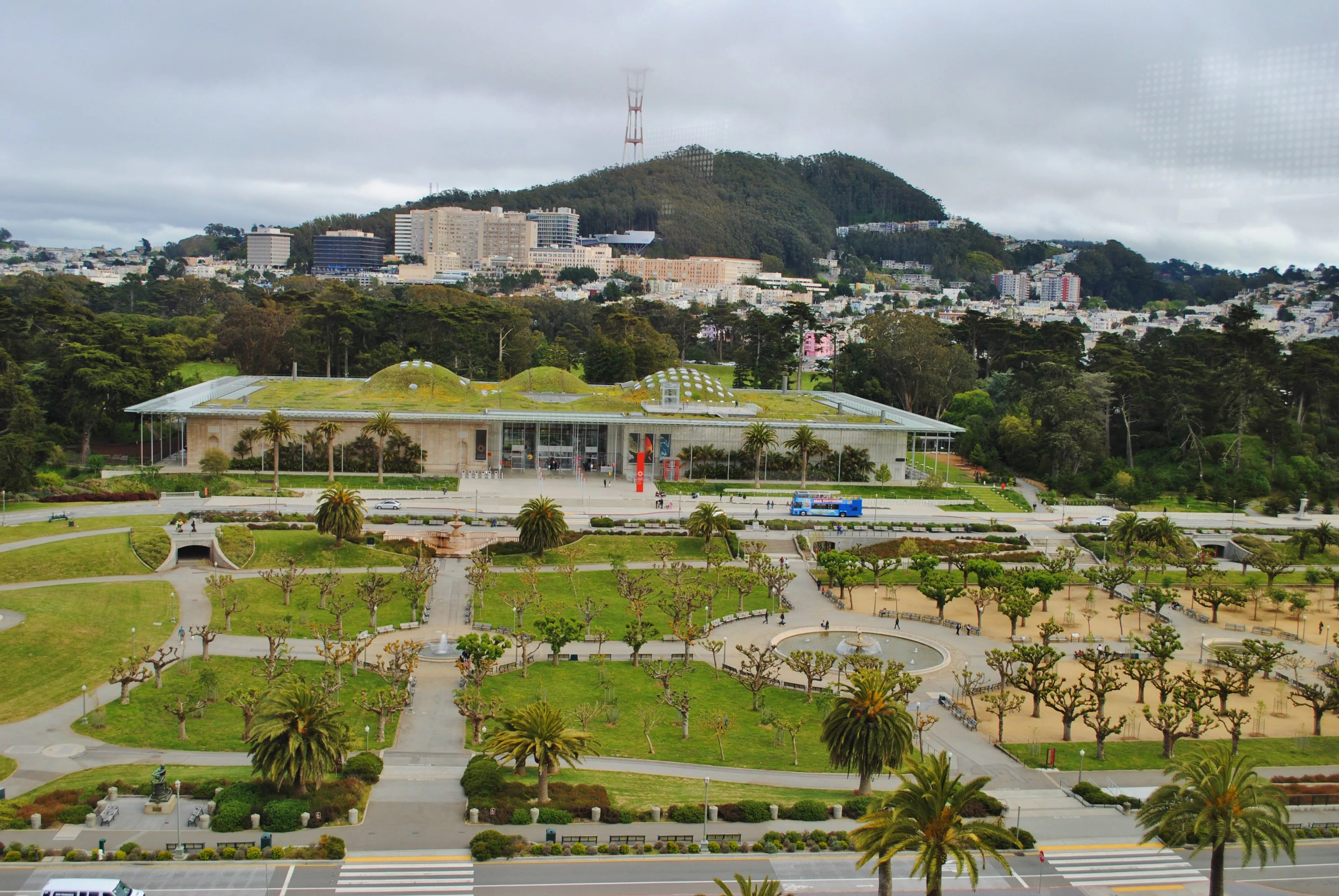 Le Meilleur Golden Gate Park View From Tower Wikiarquitectura Ce Mois Ci