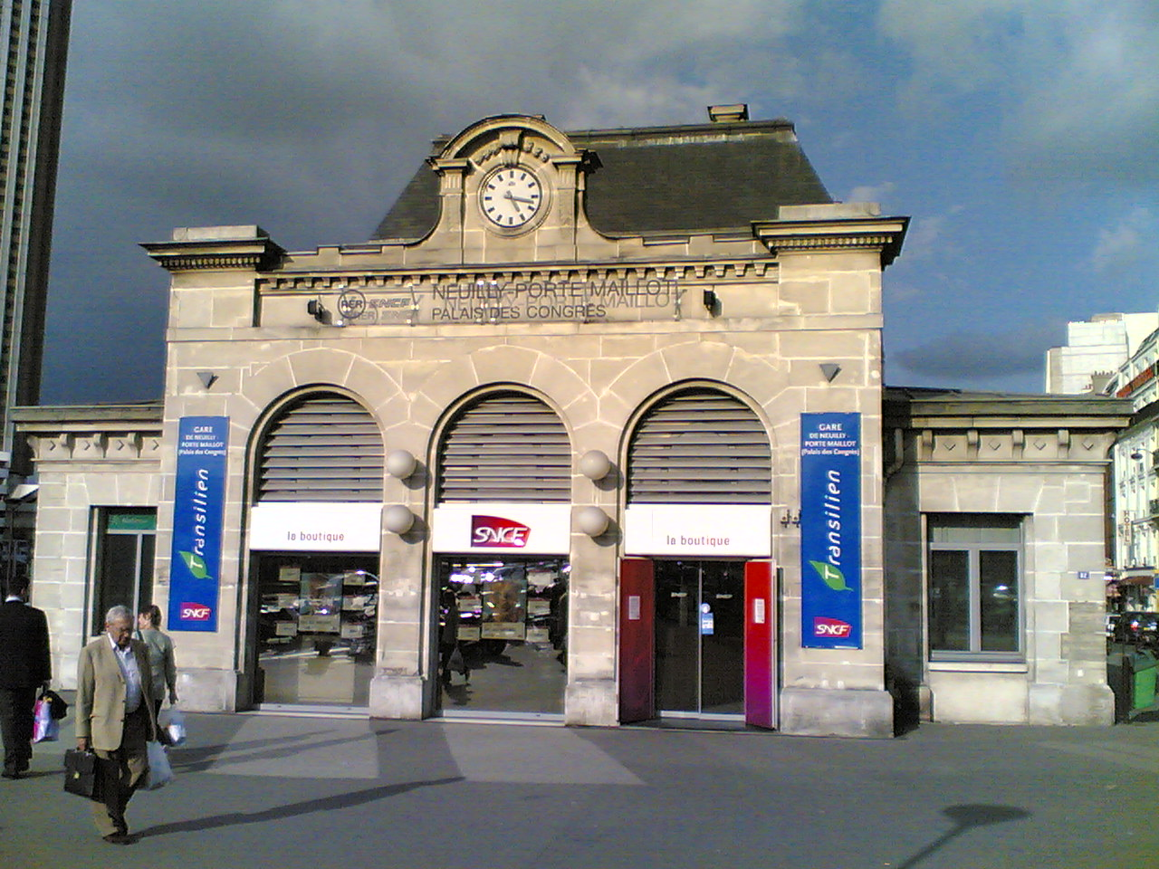 Le Meilleur File Neuilly Porte Maillot Ext Jpg Wikimedia Commons Ce Mois Ci
