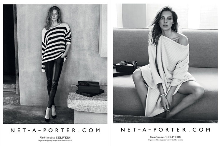 Le Meilleur Net A Porter Autumn Winter 2015 Advertising Campaign Ce Mois Ci