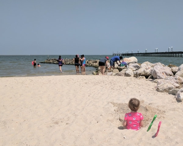 Le Meilleur Sylvan Beach Park… Play At The Beach Without Driving To Ce Mois Ci