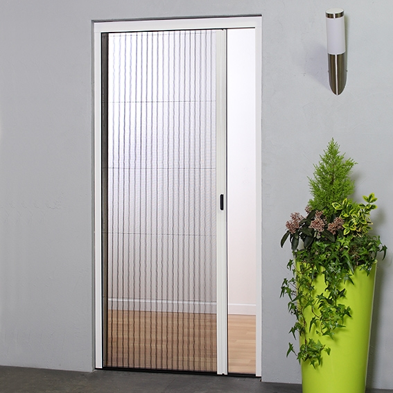 Le Meilleur Retractable Concertina Door Fly Screen Pleated Bug Screens Ce Mois Ci