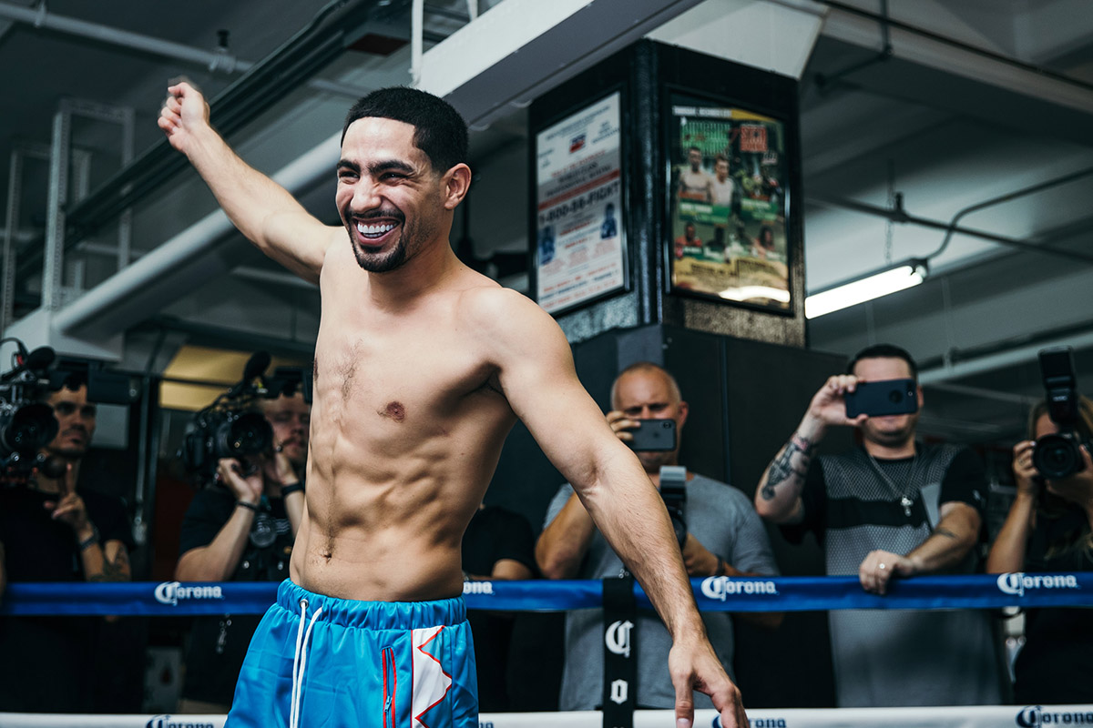 Le Meilleur Photo Gallery Danny Garcia Shawn Porter Media Day The Ring Ce Mois Ci