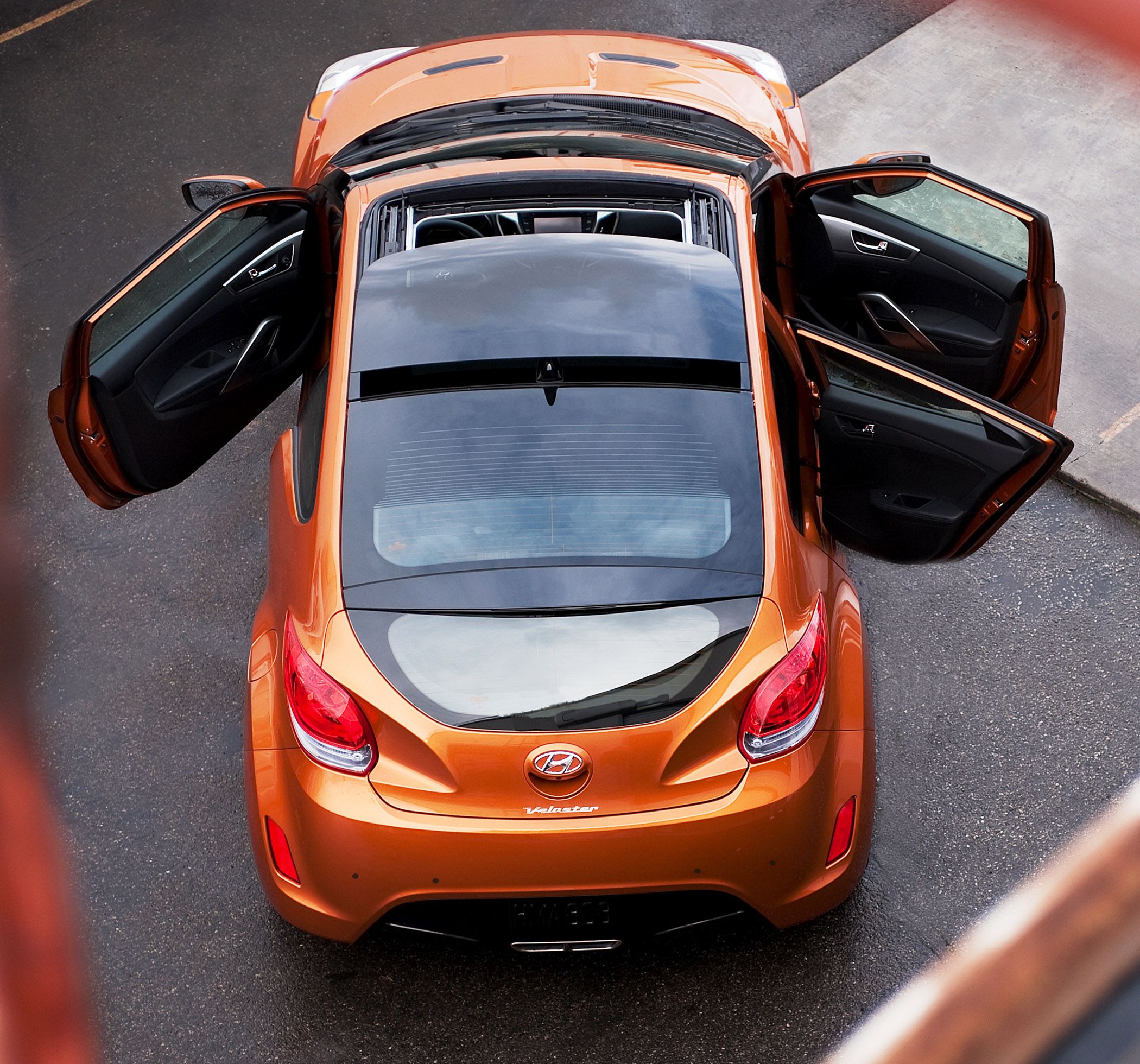 Le Meilleur New For 2012 Hyundai Veloster 3 Door Compact Coupe Down Ce Mois Ci