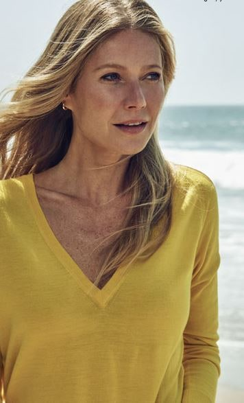 Le Meilleur Gwyneth Paltrow S Yellow B*K*N* From The Netaporter Edit Ce Mois Ci