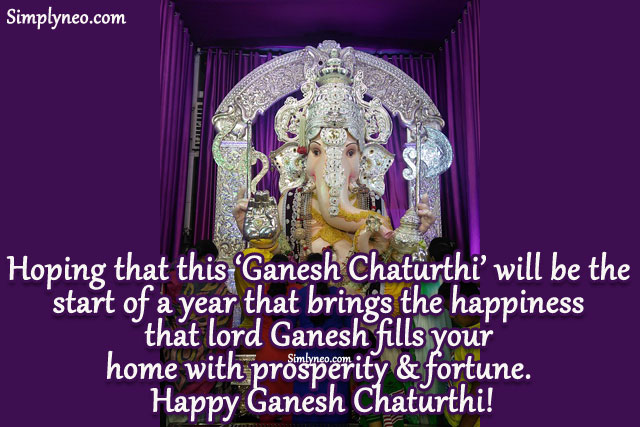 Le Meilleur Happy Ganesh Chaturthi Simplyneo Quotes Ce Mois Ci