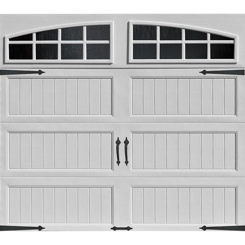 Le Meilleur Ideal Door® Designer White Insulated Garage Door With Ce Mois Ci