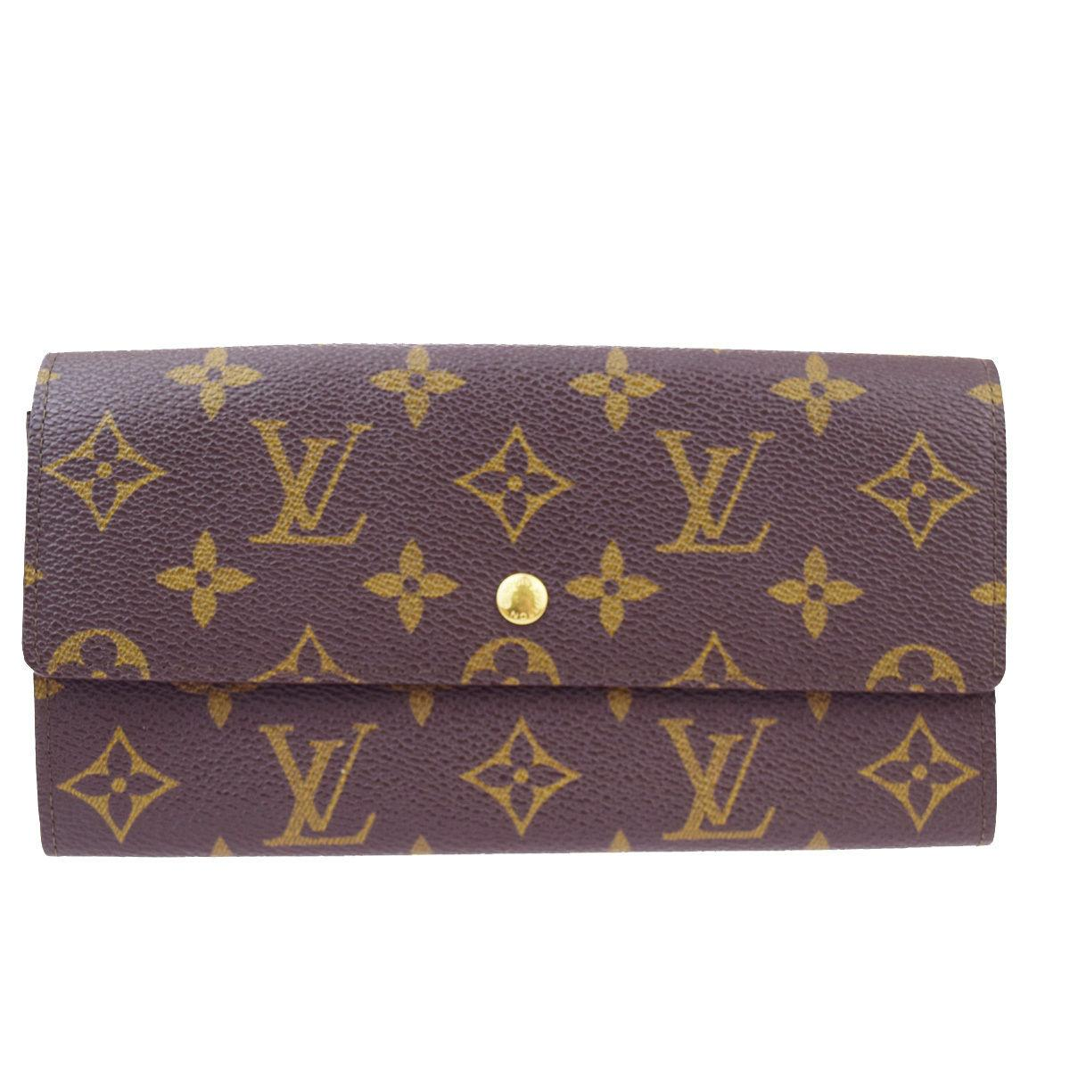 Le Meilleur Louis Vuitton Louis Vuitton Porte Monnaie Credit Long Ce Mois Ci