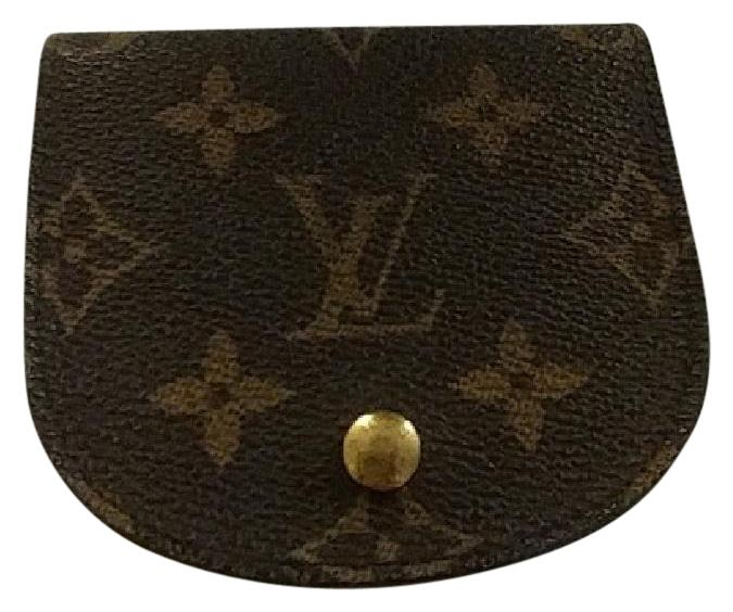 Le Meilleur Louis Vuitton Brown Porte Monogram Round Coin Purse Porte Ce Mois Ci