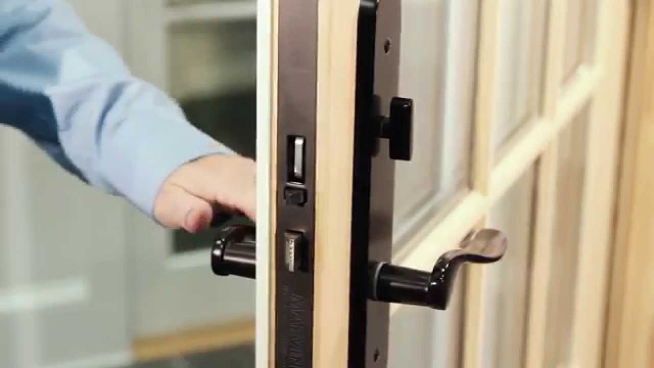 Le Meilleur Marvin French Door How To Operate The Multipoint Ce Mois Ci