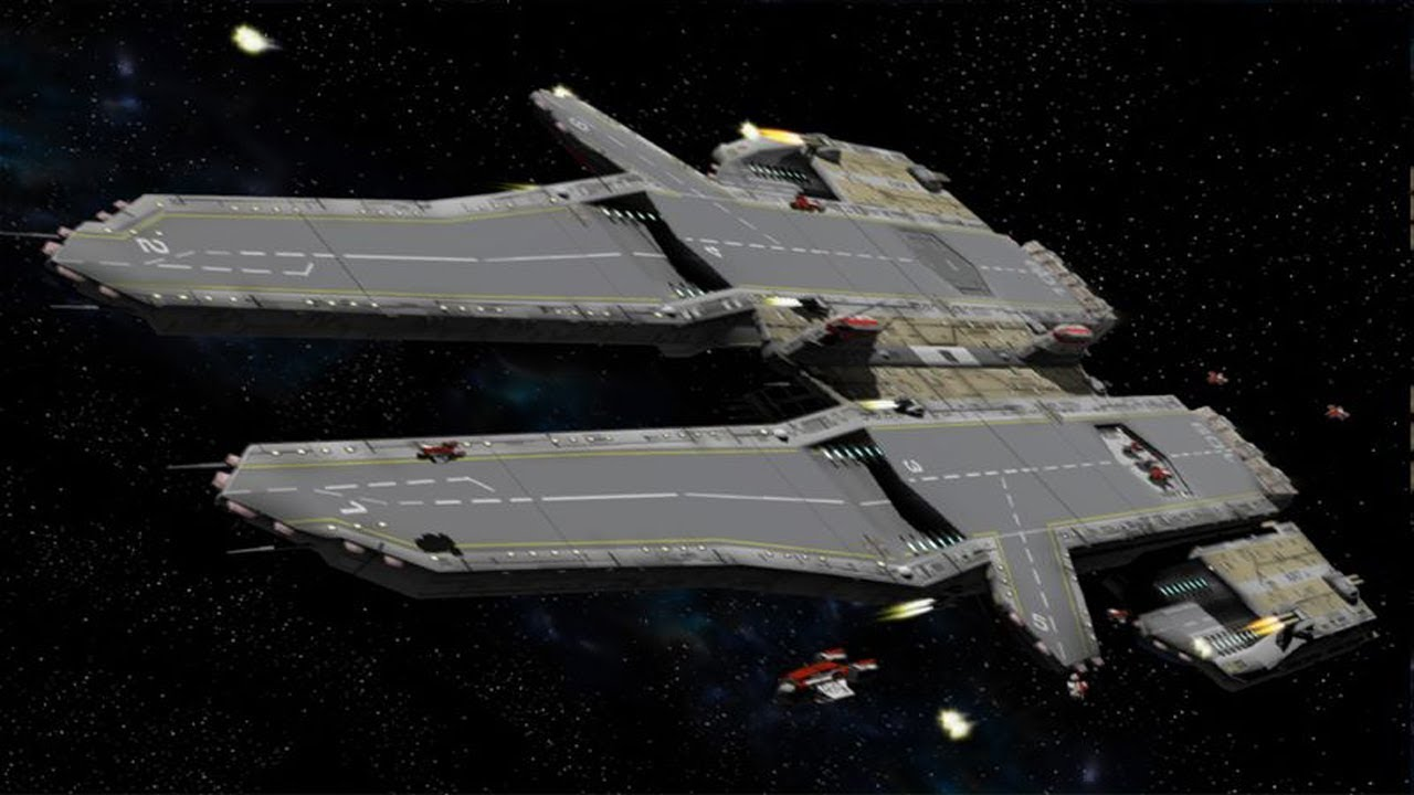 Le Meilleur Future Aircraft Carriers In Space Youtube Ce Mois Ci