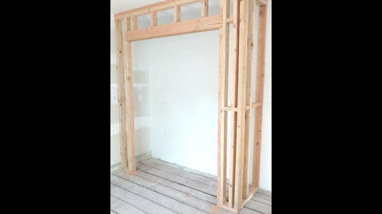 Le Meilleur How To Frame A Closet By Coknowpro Youtube Youtube Ce Mois Ci