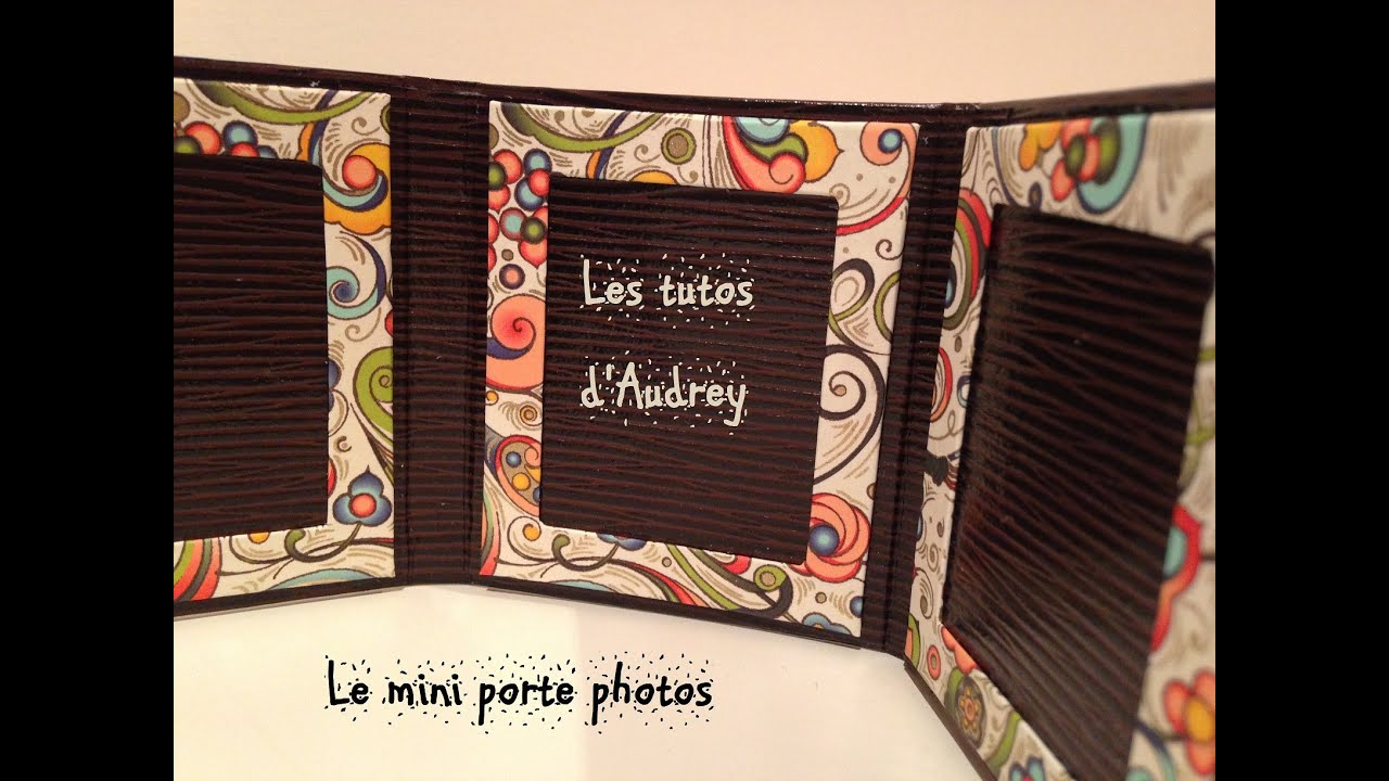 Le Meilleur D I Y Cartonnage N°4 Le Mini Porte Photos Youtube Ce Mois Ci