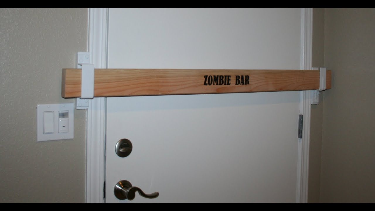 Le Meilleur Door Barricade Lowes Zombie Bar Door Barricade Kit Ce Mois Ci