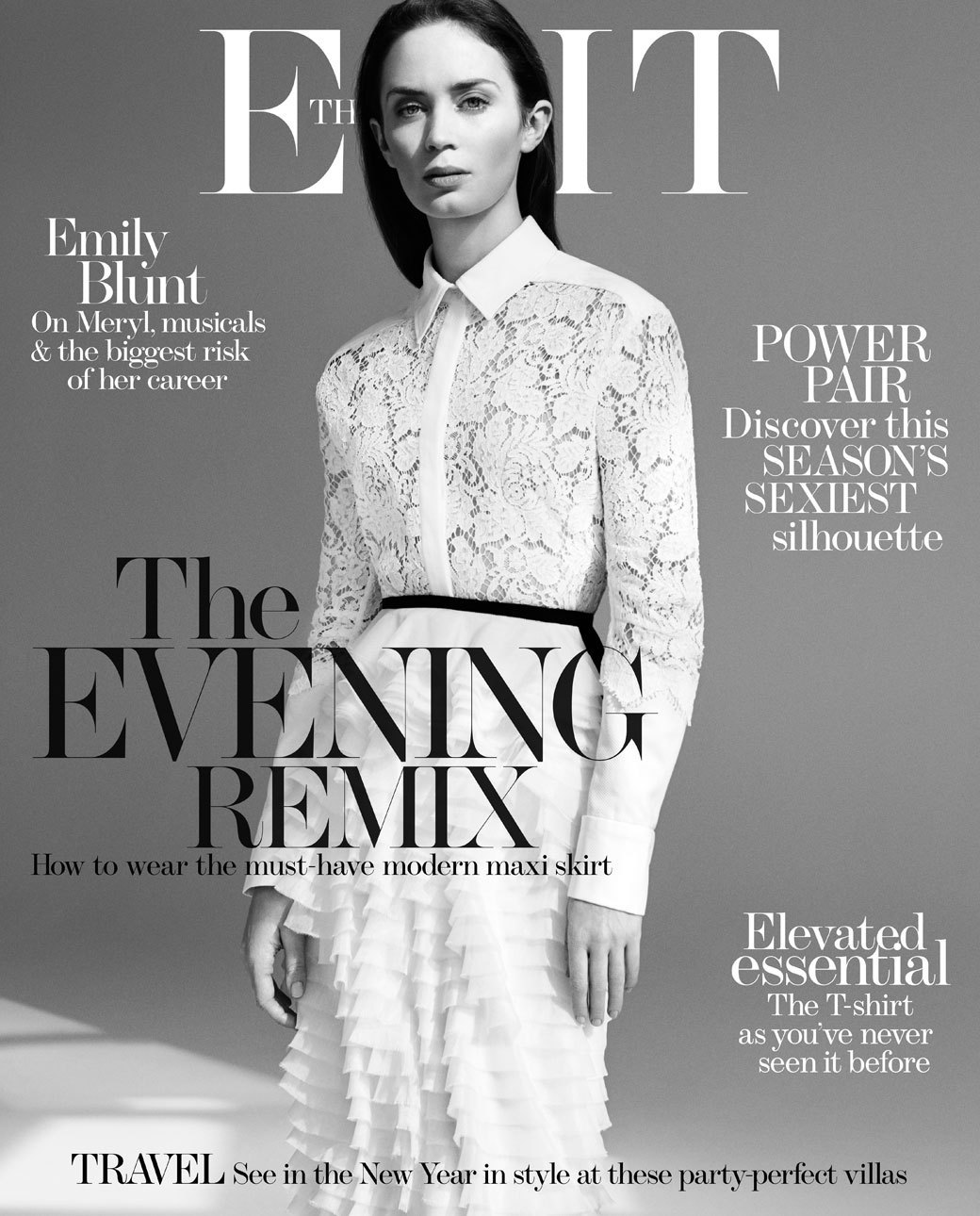 Le Meilleur Emily Blunt Dazzles In A Crop Top For The Edit Huffpost Ce Mois Ci