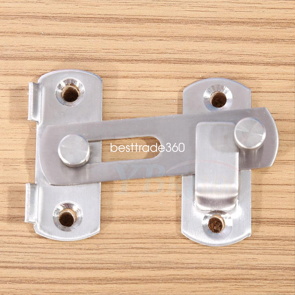 Le Meilleur Stainless Latch Lock Hasp Window Door Fitting Room Safety Ce Mois Ci