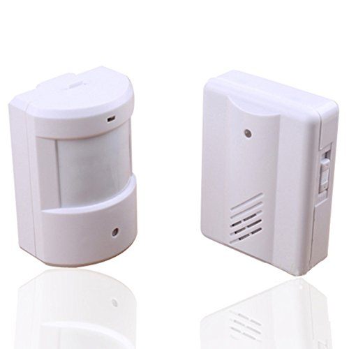 Le Meilleur Wireless Infrared Monitor Sensor Detector Entry Doorbell Ce Mois Ci